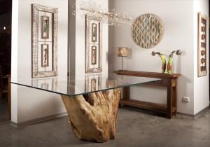 שולחן אורגני Grapia