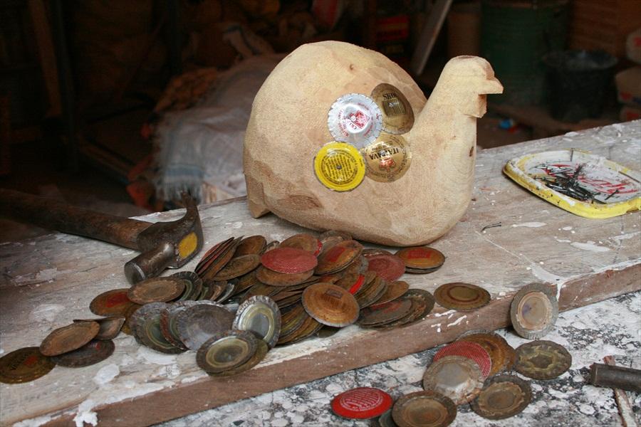 תהליך הכנת תרנגול מפקקים