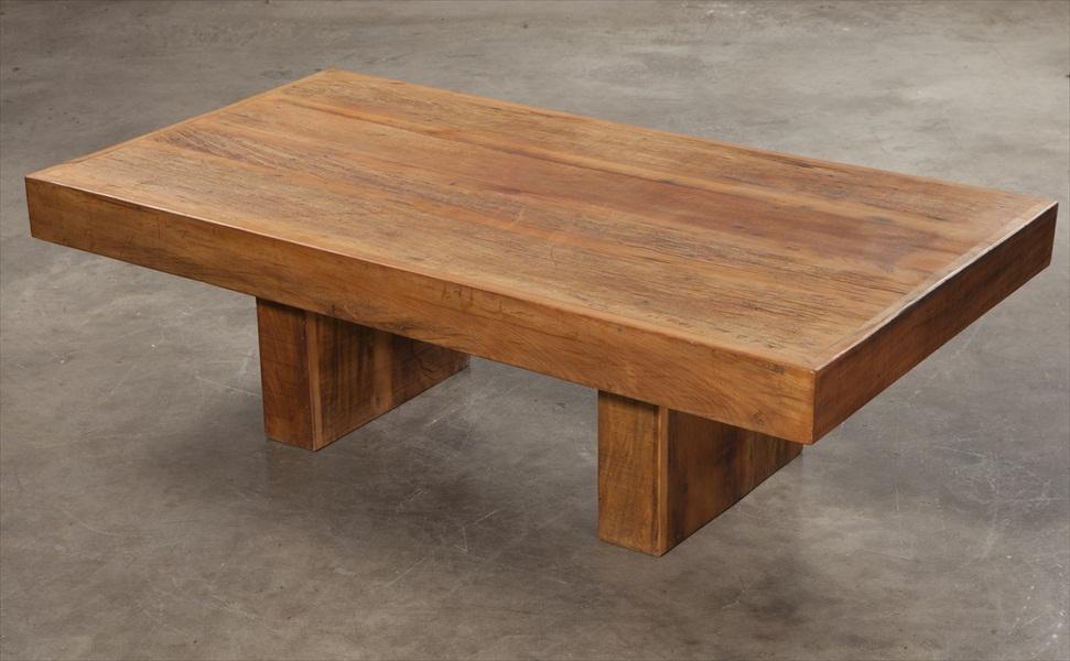 שולחן סלוני מעץ מלא3