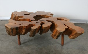 שולחן סלוני משאריות עץ Guaranta