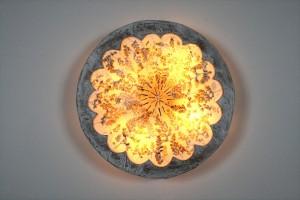 גוף תאורה מקנווס לתלייה