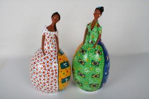 בובות צבעוניות מדלעת