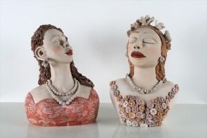 פסלים / בובות חמר מצפון ברזיל