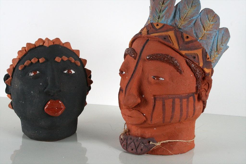 פסלים אינדיאנים מברזיל