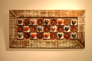 מסגרת לבבות מברזיל