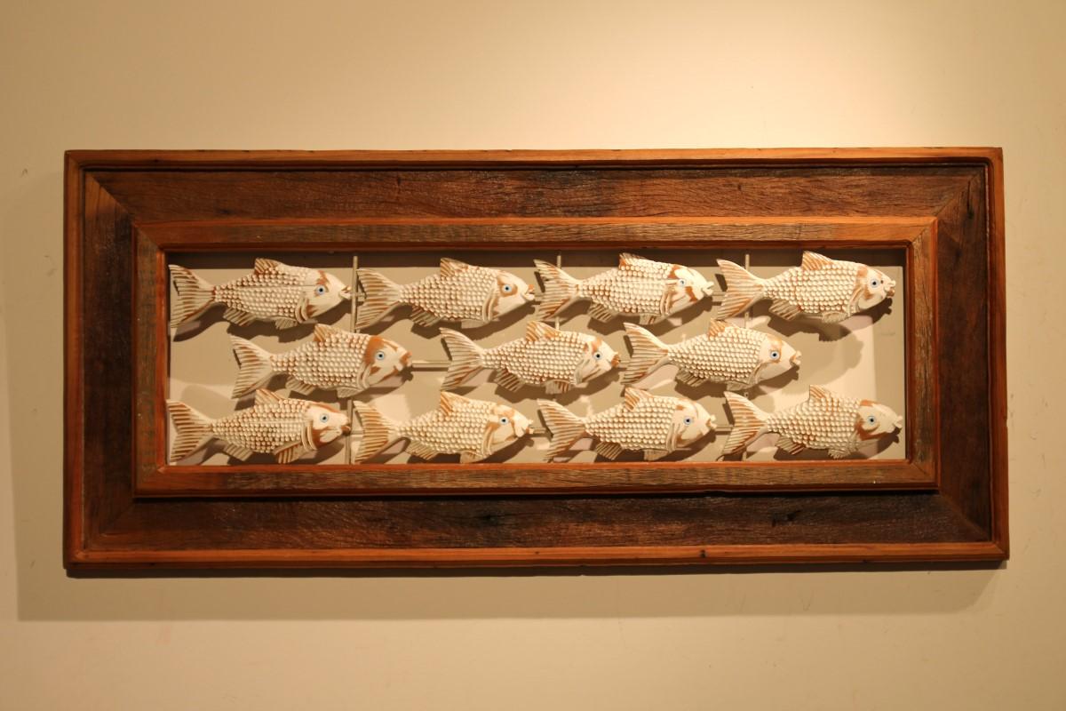מסגרת דגים מאווררת