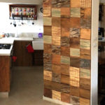 חיפוי עץ וחזיתות מטבח מעץ ממוחזר