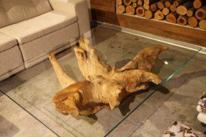 שולחן סלוני אורגני / Taruma